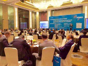 嗨酷翻译公司为第四届中国VDMA机械工程峰会提供口译服务