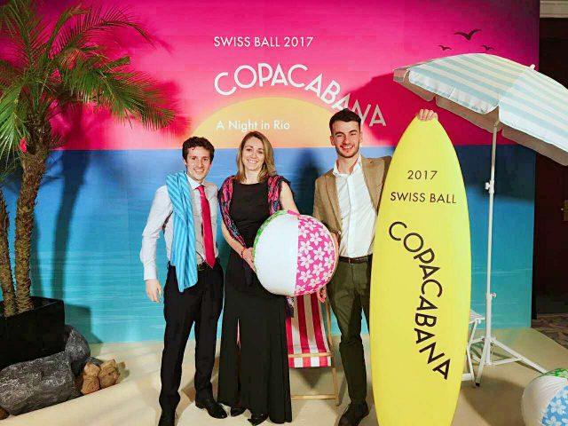 嗨酷受邀参加中国瑞士青年协会的纵情时光2017 Swiss Ball