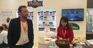 嗨酷翻译公司在上海中食展为GRAMAS提供中英交替传译口译服务
