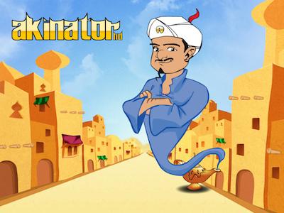 游戏本地化 – Akinator